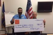 Check Donation to Blaine County Search & Rescue